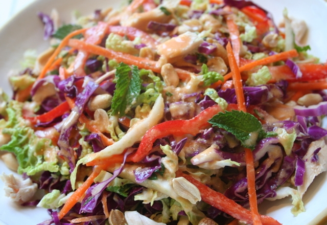 Healing Recipes: Cancer – Asian Garden Vegetable Slaw
