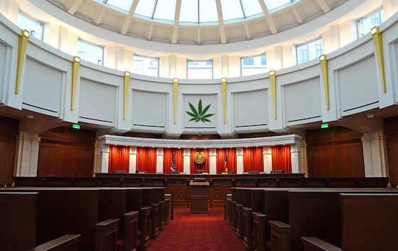 NORML, Feds Agree On Benefits Of Cannabis, Source: http://www.tokeofthetown.com/800px-Colorado_Supreme_Court_courtroom.jpg