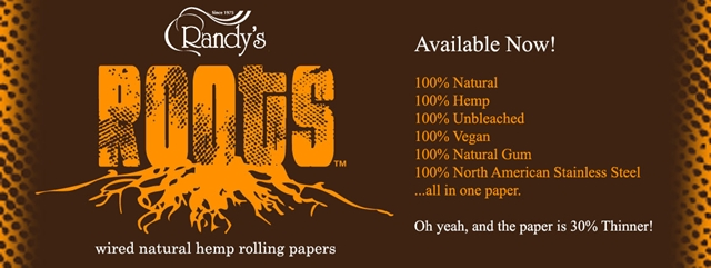 Product Review: Randy's 100% Natural Wired Rolling Papers